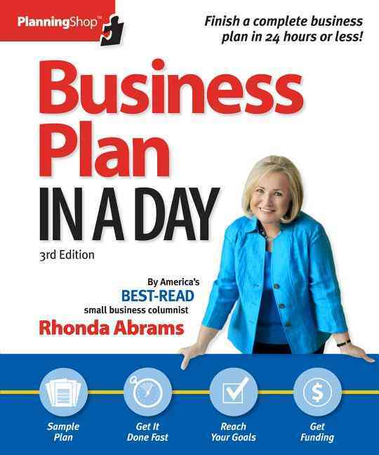 Business Plan in a Day By Abrams, Rhonda